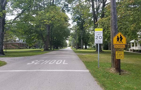 Grand River Academy Welcomes New School Zone to Enhance Boarding School Safety