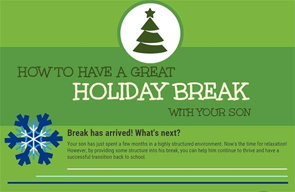 Make the Most of Your Son's Holiday Break