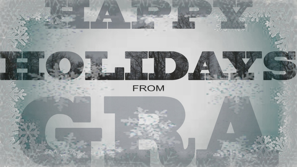 Happy Holidays from Grand River Academy